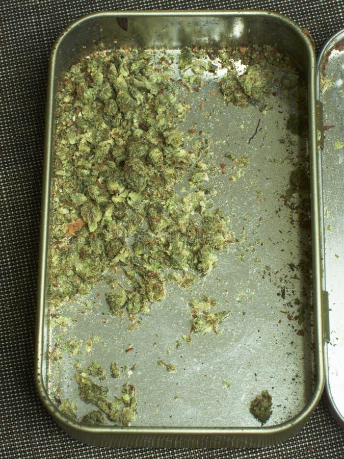 Medische Marihuanaachtergrond royalty-vrije stock afbeelding