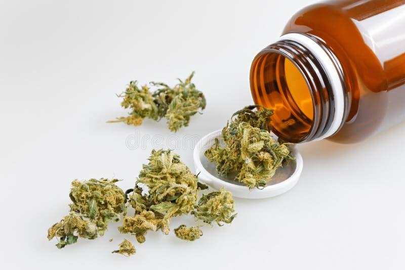 Medische Marihuanafoto stock afbeeldingen