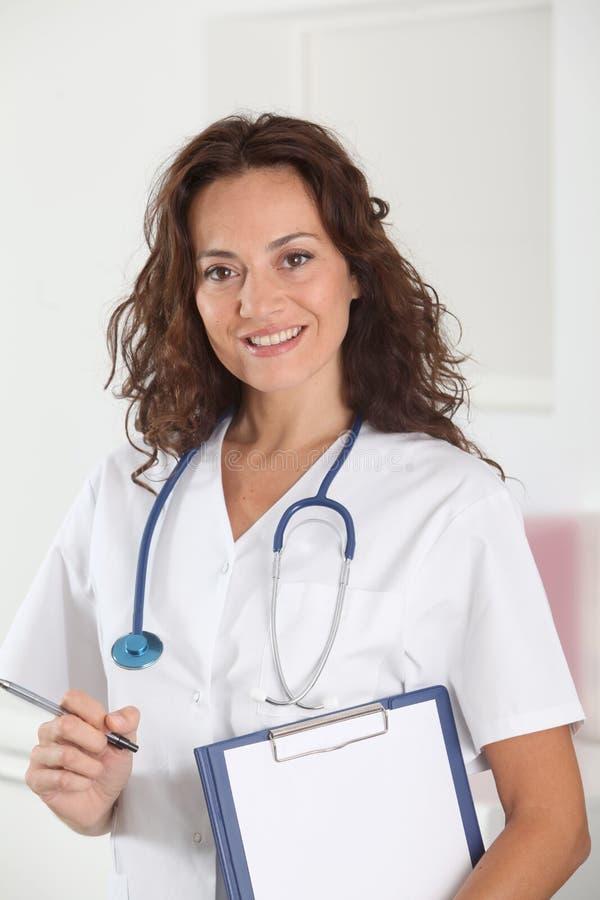 Medische mensen stock foto's