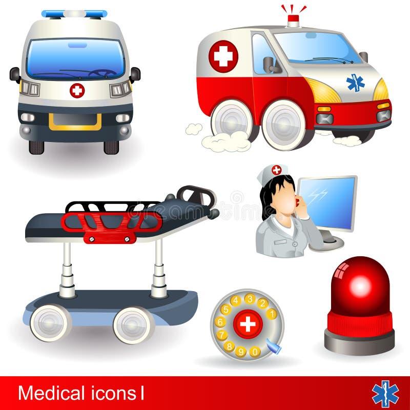 Medische pictogrammen vector illustratie