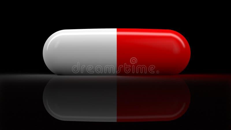 Medische pil royalty-vrije illustratie