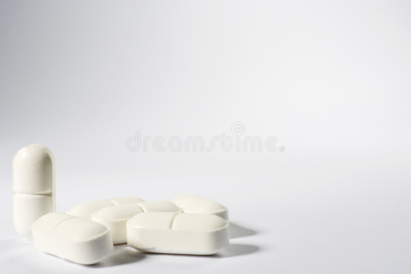 Medische Pillen stock fotografie