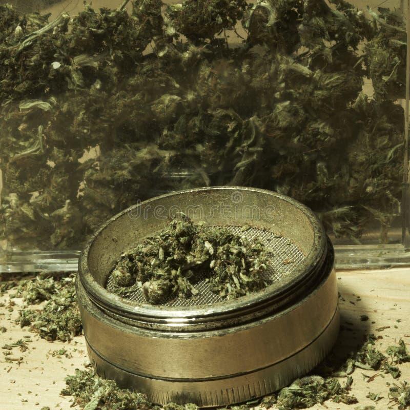 Medische & Recreatieve Marihuana stock foto