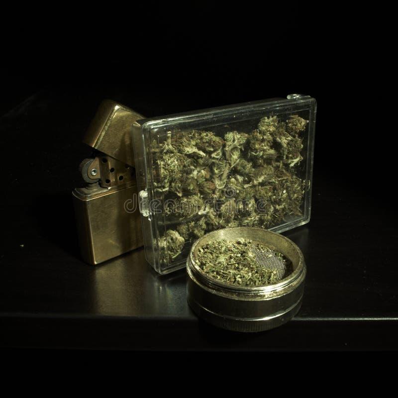 Medische & Recreatieve Marihuana stock afbeeldingen