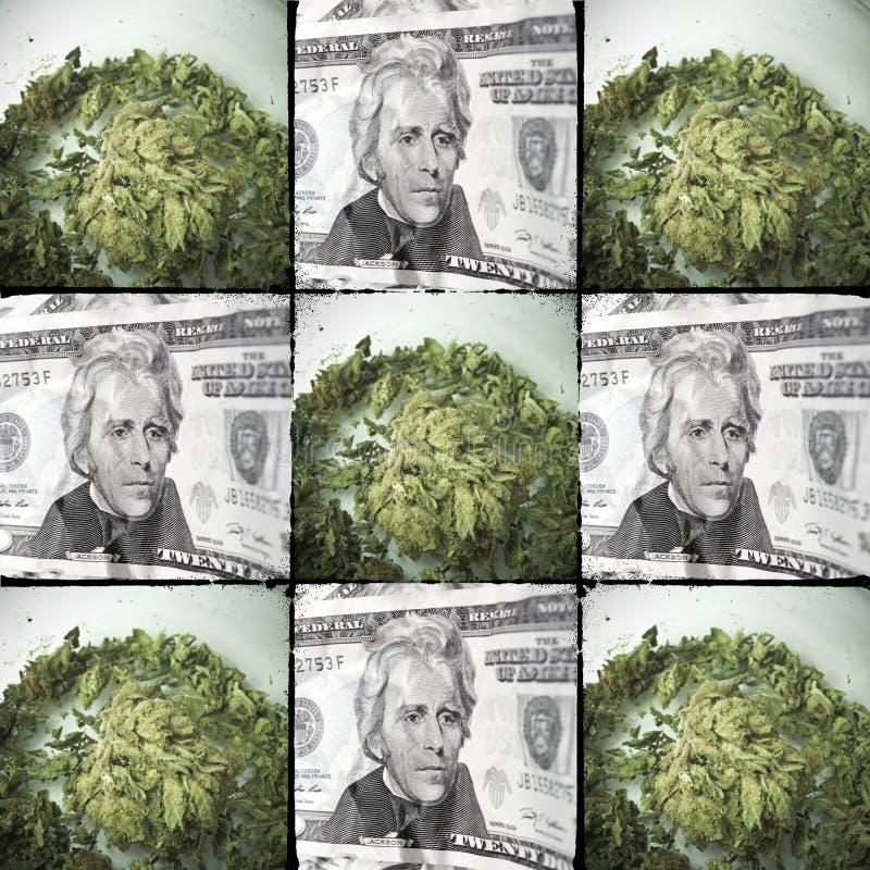 Medische & Recreatieve Marihuana royalty-vrije stock afbeeldingen