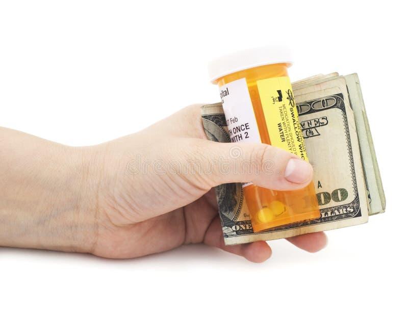 Medische rekeningen royalty-vrije stock foto
