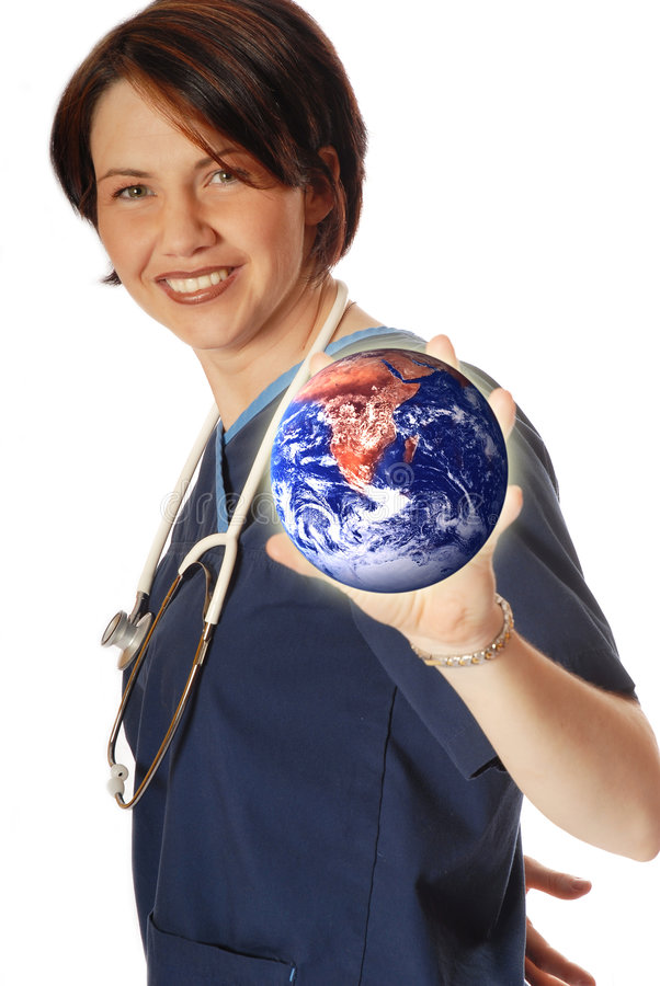 Medische schijf stock foto