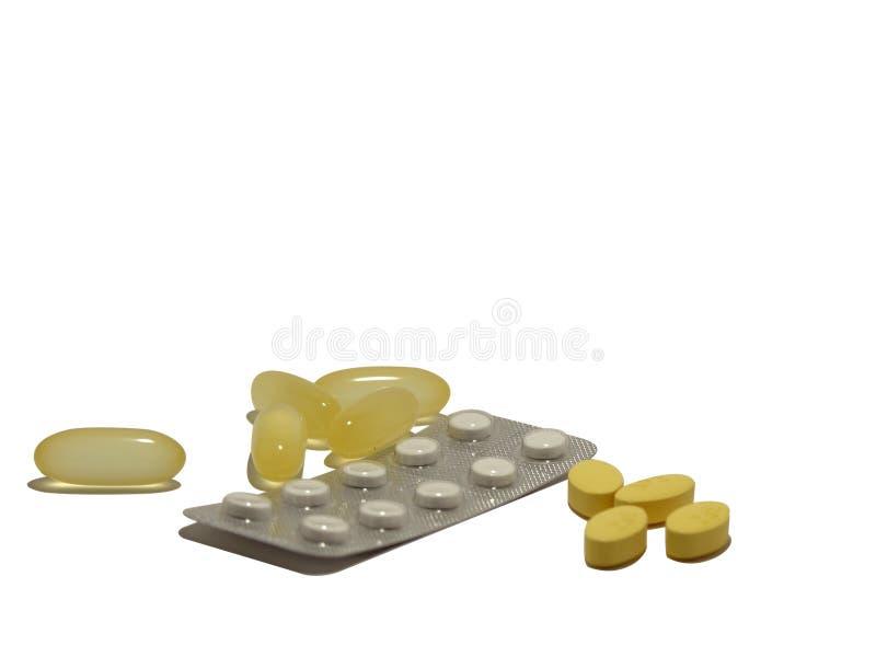 Medische Tabletinzameling Royalty-vrije Stock Fotografie