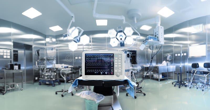 Medische technologie in chirurgie stock afbeelding