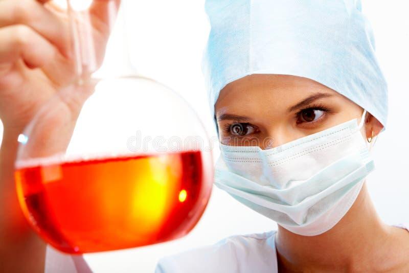 Medische test royalty-vrije stock afbeeldingen