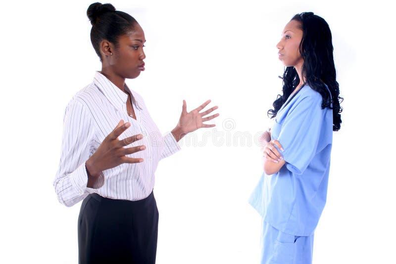 Medische - Verpleegster - Arts royalty-vrije stock afbeeldingen