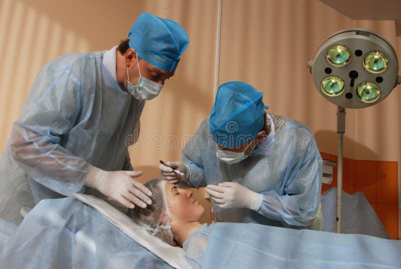 Medische verrichting stock foto's