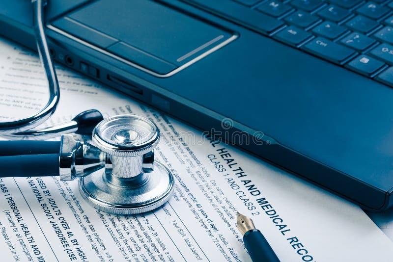 Medische vorm stock fotografie