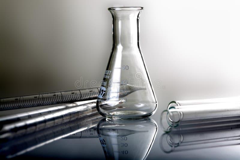 Medische wetenschapsapparatuur. stock foto