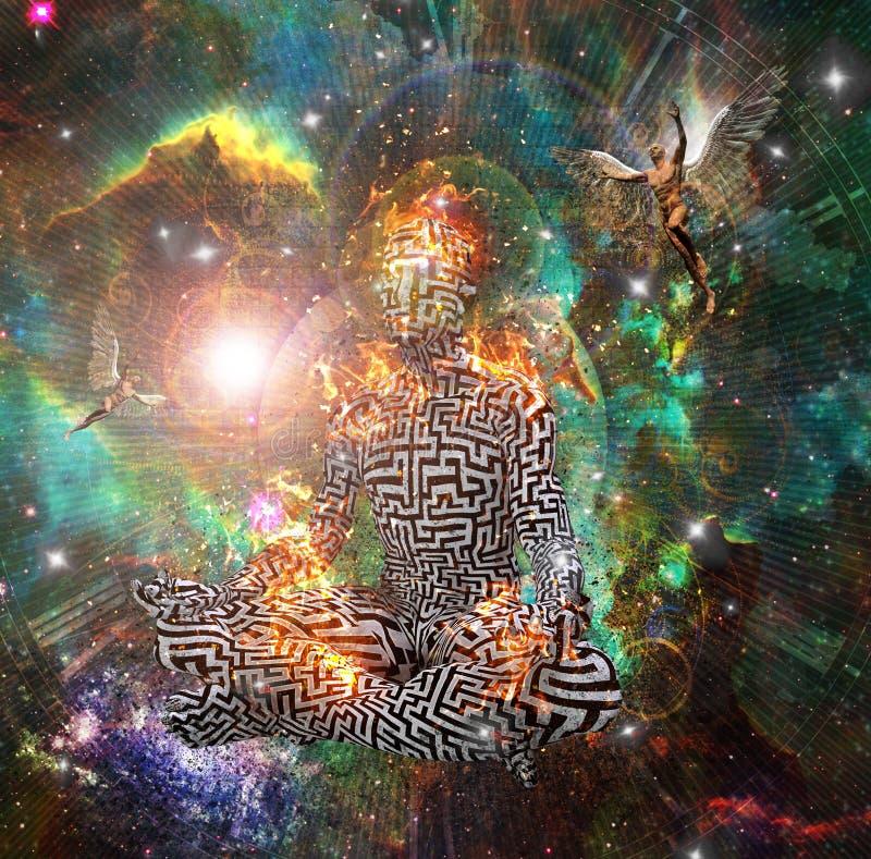 meditaci?n libre illustration