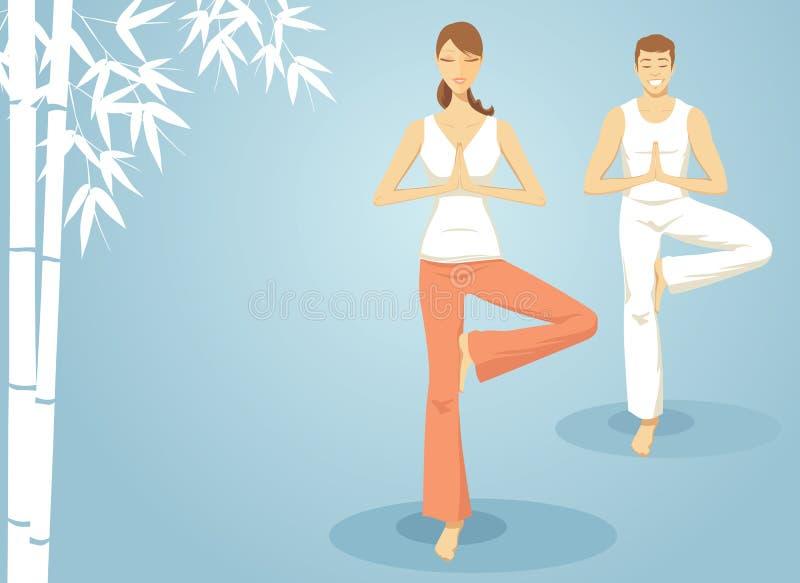 meditate διανυσματική απεικόνιση