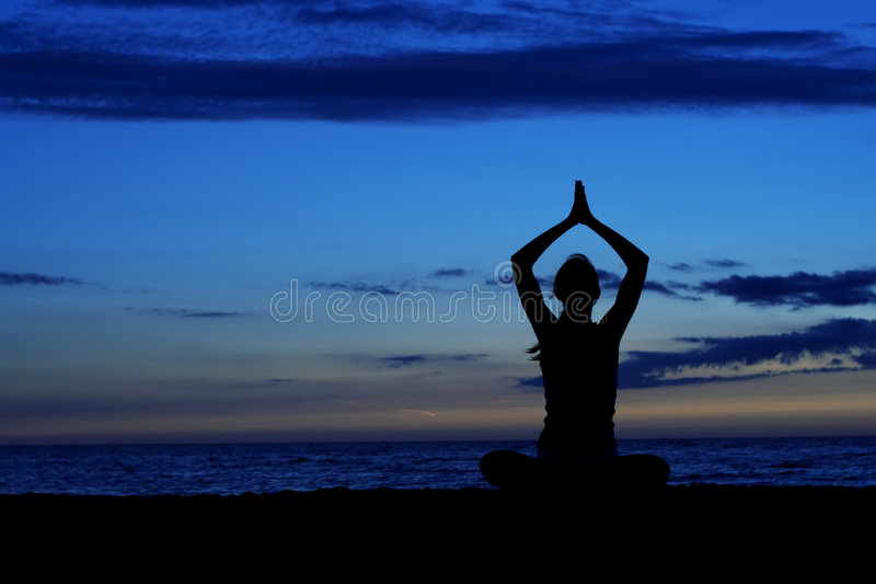 Meditatie. Royalty-vrije Stock Afbeeldingen