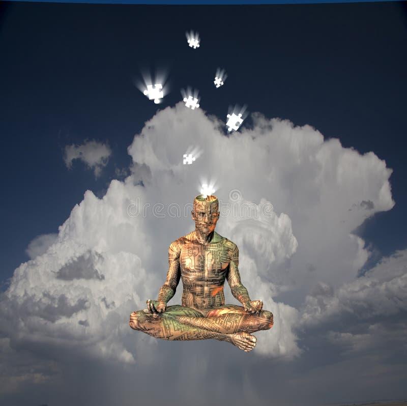 meditation arkivfoton