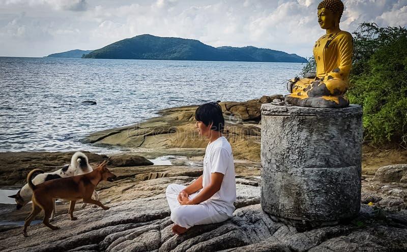 meditation stockfotos