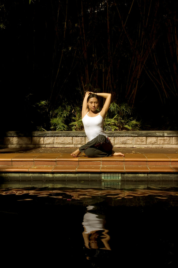 Download Meditation stock image. Image of asia, games, outdoor, attractive - 156857