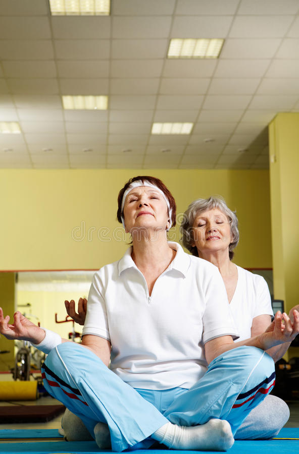 Download Meditation stock image. Image of athletic, activity, pose - 20976365