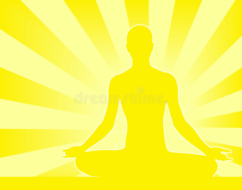 Download Meditation stock vector. Image of illustration, beam, passive - 2908742