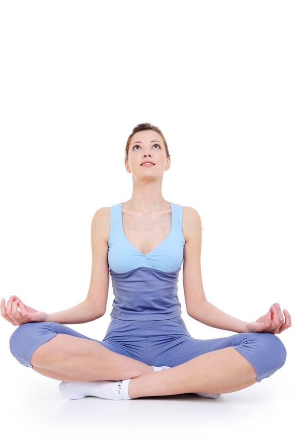 Meditation Fotografering för Bildbyråer