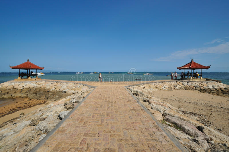 Download Meditation Hut At Sanur Beach In Bali Stock Image - Image: 17793621
