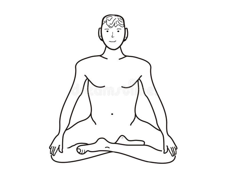 Download Meditation, illustrations stock illustration. Image of medicine - 8407293