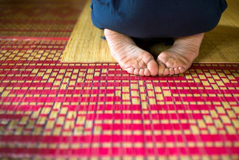Meditation, Meditator stock photography