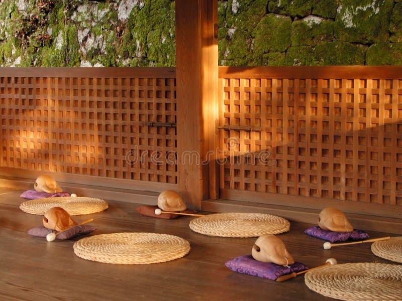 Meditation place royalty free stock photos