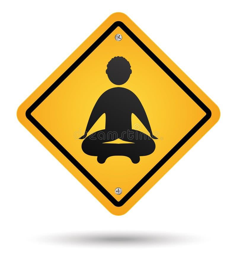Download Meditation Road Sign Stock Photos - Image: 24249273