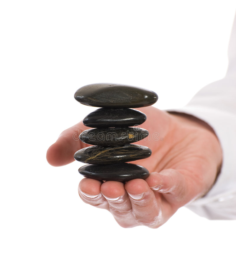Download Meditation Rocks stock image. Image of meditation, hold - 9104653