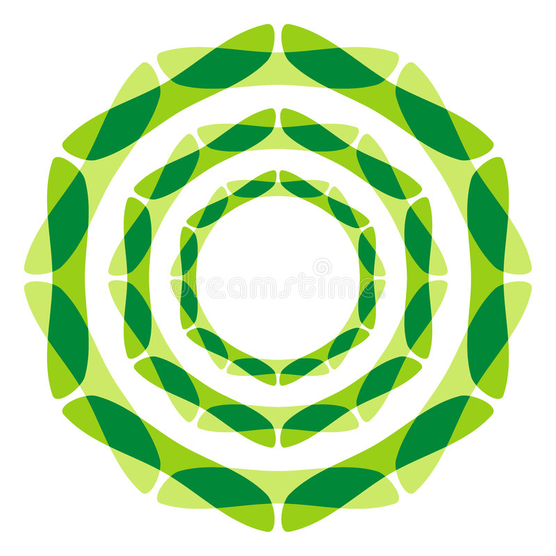 Meditation symbol royalty free illustration