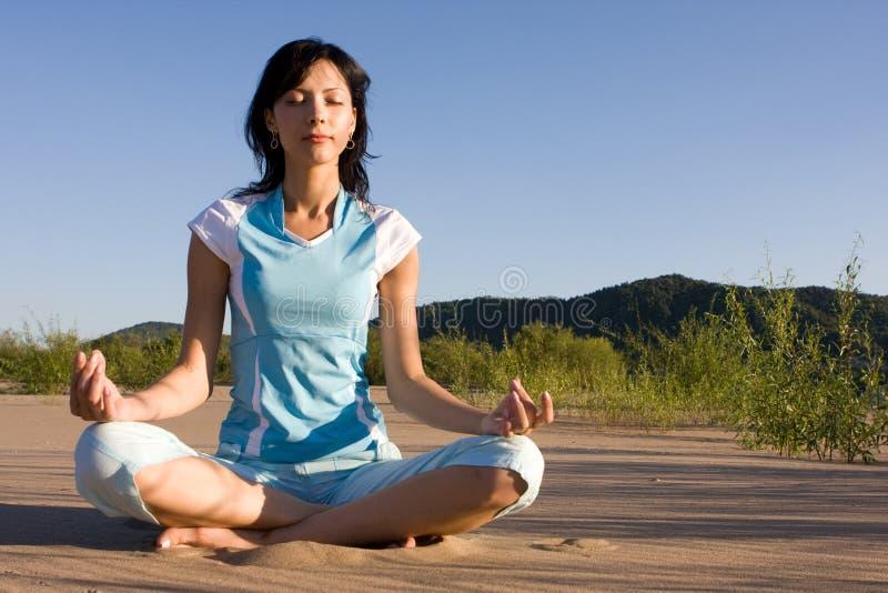 meditationsand arkivfoto