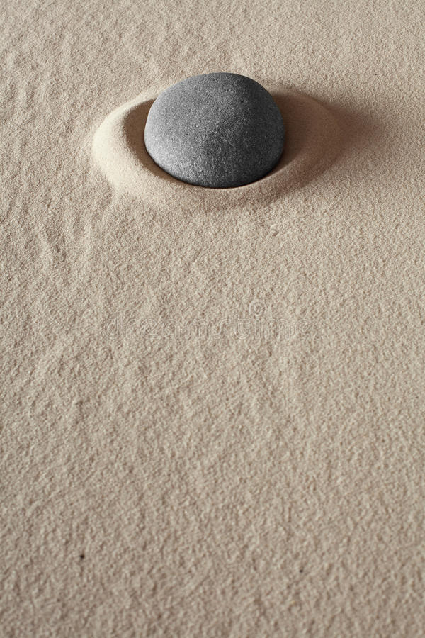 meditationstenzen royaltyfri bild