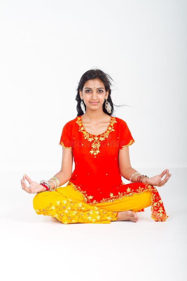 meditationstudio royaltyfria bilder