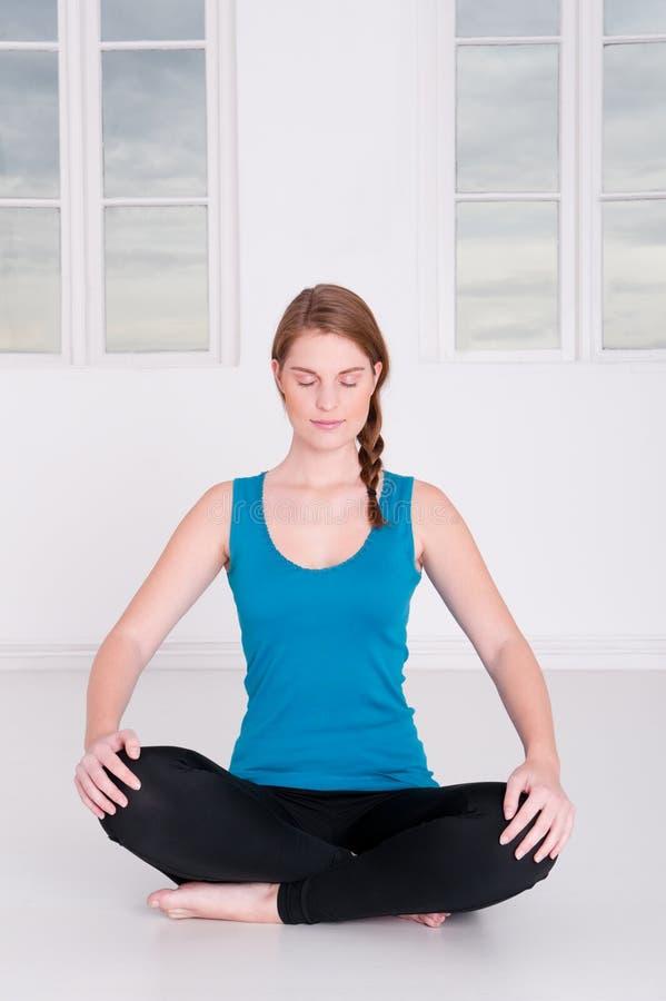 Meditationzeit stockbild