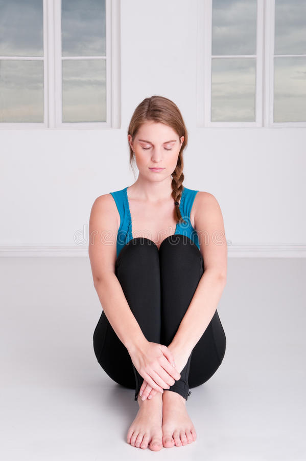 Meditationzeit stockfotografie