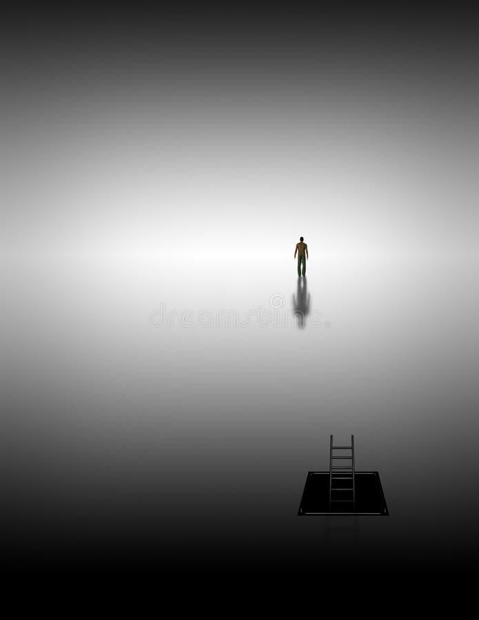Download Meditative journey stock illustration. Illustration of freedom - 23781609
