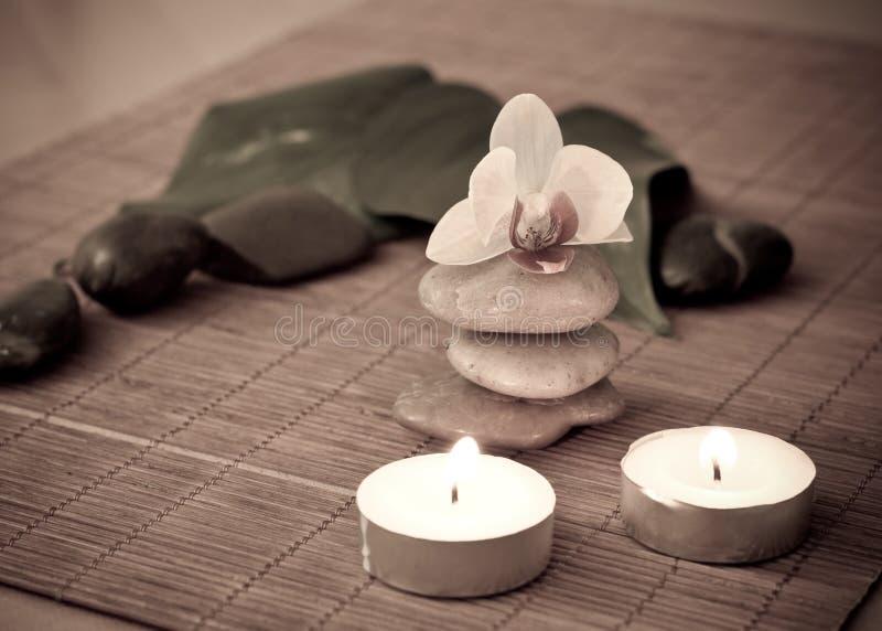 meditative serenity royaltyfria foton