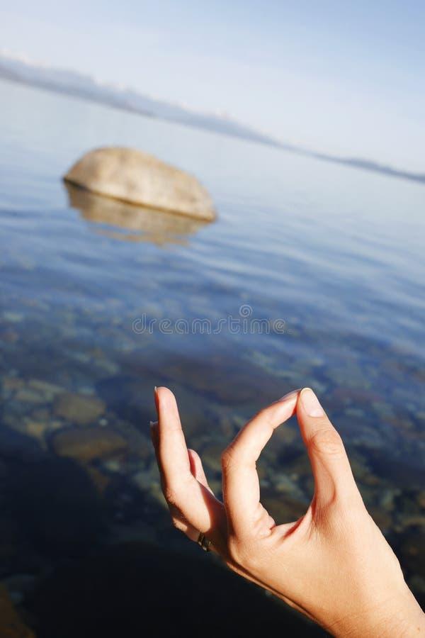 Download Meditazione fotografia stock. Immagine di ricreazione - 7304840