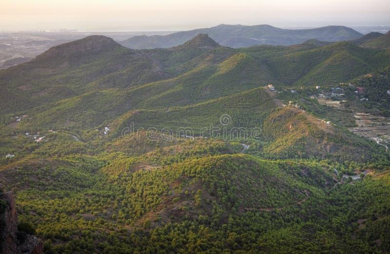 Download Mediterraan Bergachtig Landschap Stock Foto - Afbeelding bestaande uit nave, pijnboom: 10775680