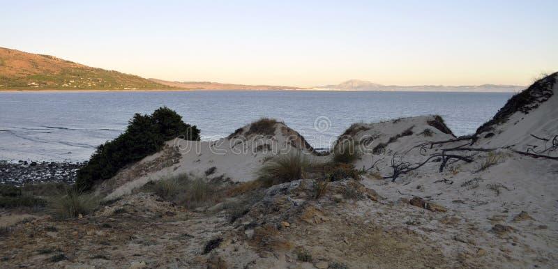 Mediterrane baai van de rots royalty-vrije stock afbeeldingen