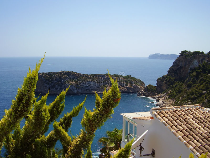 Mediterrane droom stock fotografie