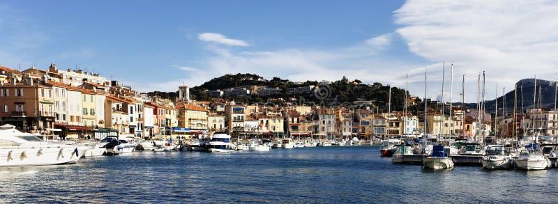 Mediterrane haven royalty-vrije stock foto