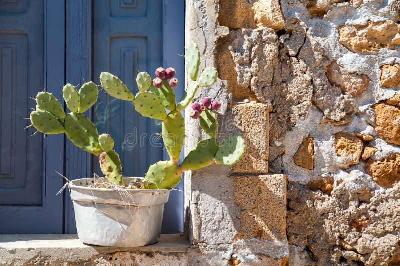 Mediterrane hoeken royalty-vrije stock foto's