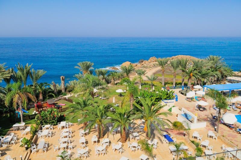 Mediterrane Toevlucht Royalty-vrije Stock Foto's