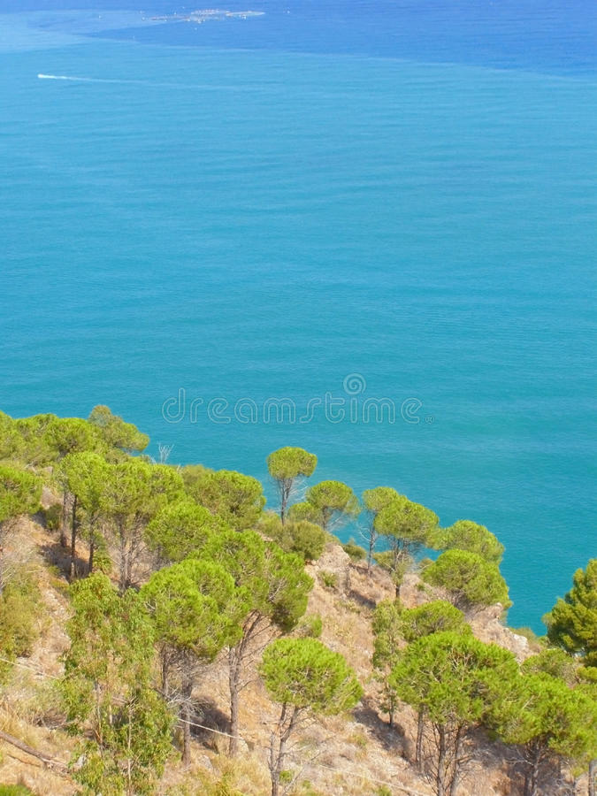 Download Mediterranean stock photo. Image of hill, coastline, colorful - 13554770