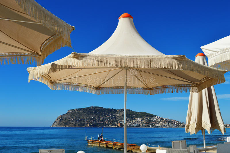Download Mediterranean Beach During Hot Summer Day Stock Image - Image: 34931141